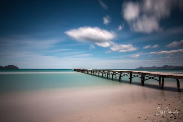 Mallorca / Alcudia / Playa de Muro, Langzeitbelichtung, 2014, © Silly Photography