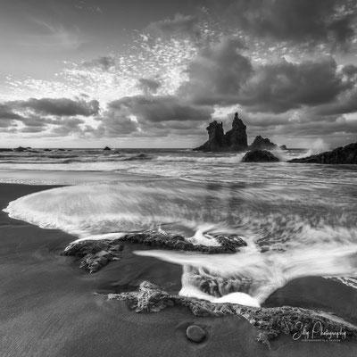 Teneriffa / Benijo Beach, Spanien, Langzeitbelichtung, 2016, © Silly Photography