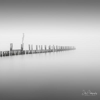 Zingst / Darß / Ostsee, Buhnen Langzeitbelichtung, 2018, © Silly Photography