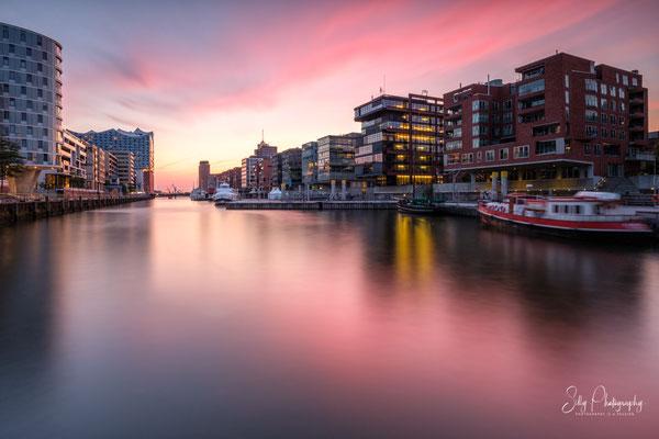 Hamburg / Hafencity,Langzeitbelichtung, 2019, © Silly Photography