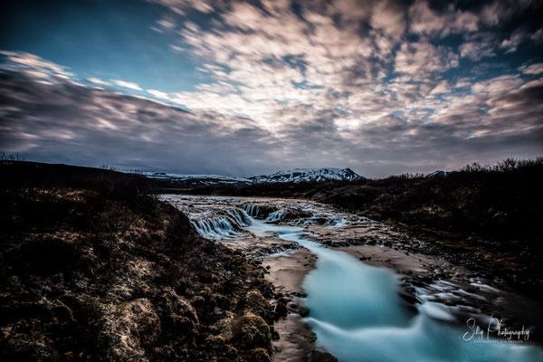 Island, Bruarfoss, Wasserfall, Langzeitbelichtung, 2015, © Silly Photography