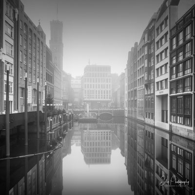 Hamburg / Bleichenfleet, Langzeitbelichtung, 2019, © Silly Photography