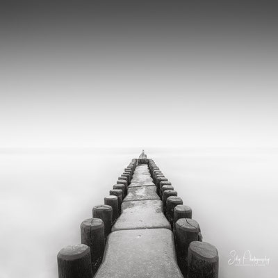 Zingst / Ostsee, Buhnen, Langzeitbelichtung, 2019, © Silly Photography