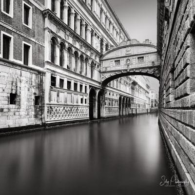 Venedig / Venezia, Seufzerbrücke, Italien, Langzeitbelichtung, 2017, © Silly Photography