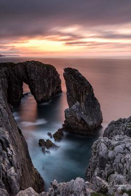 Nordspanien / Asturien /  Lanca da Roca, Langzeitbelichtung 240 sec, 2018, © Silly Photography