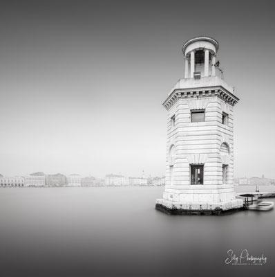Venedig / Venezia, San Giorgio Maggiore, Leuchtturm, Italien, Langzeitbelichtung, 2017, © Silly Photography