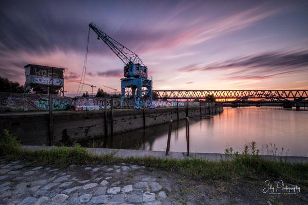 Hamburg / Billhafen, Hamburger Hafen, Langzeitbelichtung, 2017, © Silly Photography