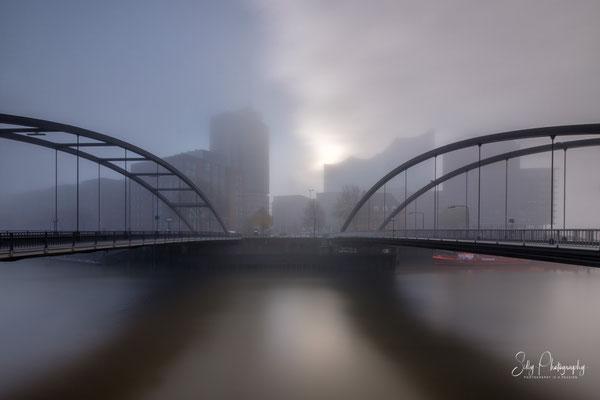Hamburg / Hafencity, Elbphilharmonie, Langzeitbelichtung, 2020, © Silly Photography