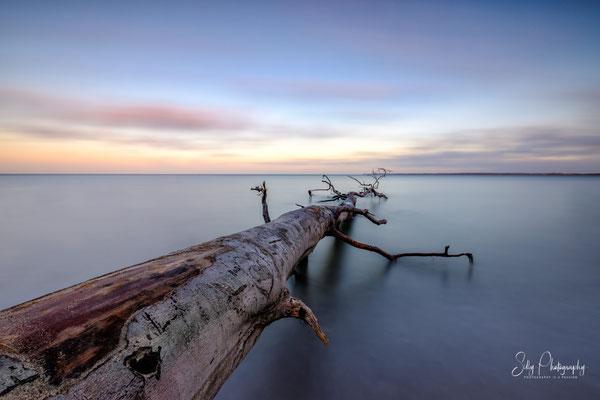 Travemünde, Brodtener  Ufer, Ostsee, Langzeitbelichtung, 2018, © Silly Photography
