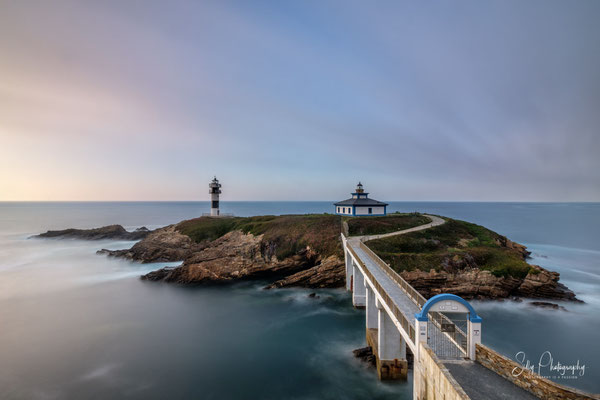 Nordspanien / Asturien /  Faro de Illa Pancha, Langzeitbelichtung, 2018, © Silly Photography