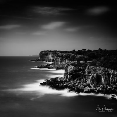 Mallorca, Cala S´Almunia, Langzeitbelichtung, 2015, © Silly Photography