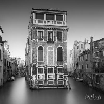 Venedig / Venezia, Italien, Palazzo Tetta, Langzeitbelichtung, 2017, © Silly Photography