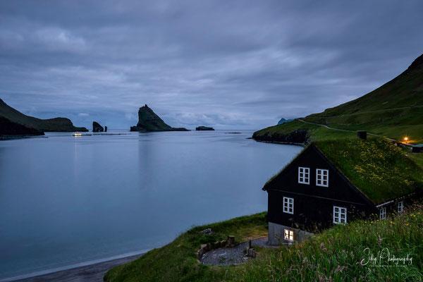 Färöer / Faroe Island, Bøur, Langzeitbelichtung, 2017, © Silly Photography