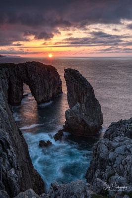 Nordspanien / Asturien /  Lanca da Roca, Langzeitbelichtung 5 sec, 2018, © Silly Photography