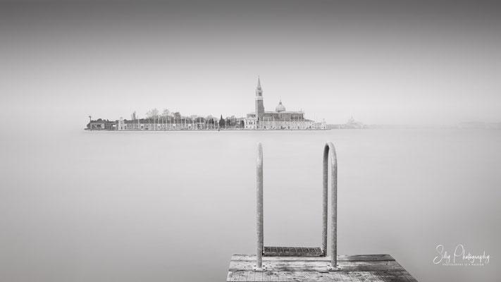 Venedig / Venezia, San Giorgio Maggiore, Italien, Langzeitbelichtung, 2017, © Silly Photography