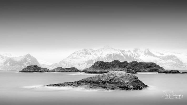 Lofoten / Sauøya, Langzeitbelichtung, 2019, © Silly Photography