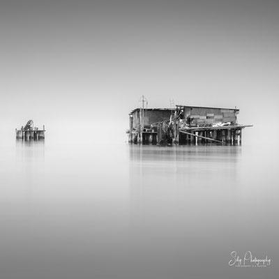 Venedig / Venezia, Fischerhäuser, Italien, Langzeitbelichtung, 2017, © Silly Photography