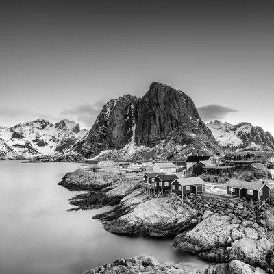 Lofoten / Hamnøy, Langzeitbelichtung, 2019, © Silly Photography