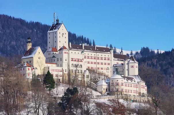 Schloss Hohenaschau (ca. 10 Autominuten)