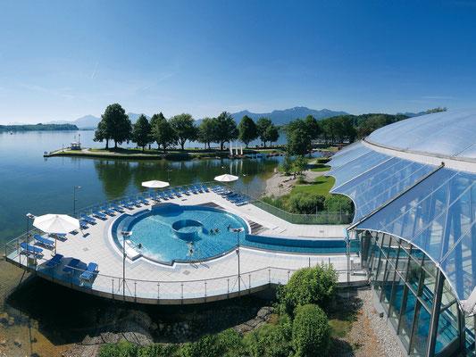 Erlebnis und Wellnessbad Prienavera (ca. 15 Autominuten)