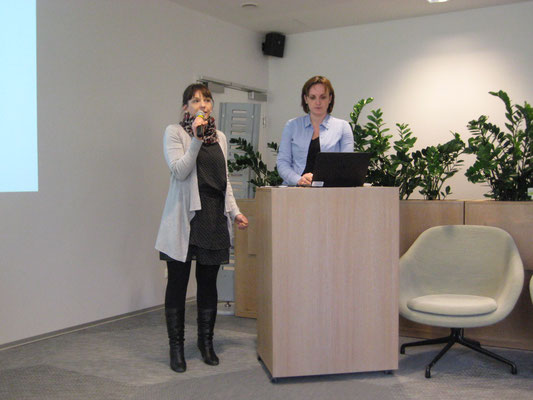 Irene Senn & Claudia Paal, Roche