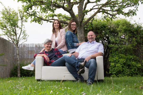 Familienshooting Gruppe Fotograf Shooting Loßburg kreativ