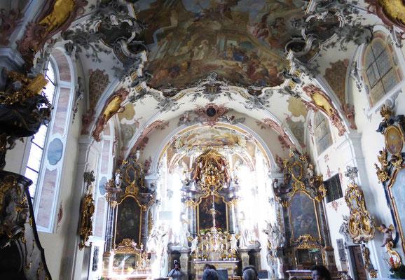 Kirche im Kloster Wald