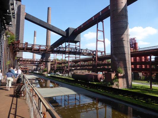Blick auf die Technik in der Kokerei der Zeche Zollverein
