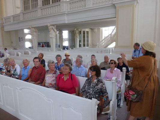 Gruppe 2 in der Ludwigskirche
