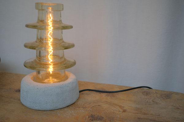 Lichtobjekt, Isolator, Lampe, Skulptur, Wolfgang Wallner, Hall in Tirol,