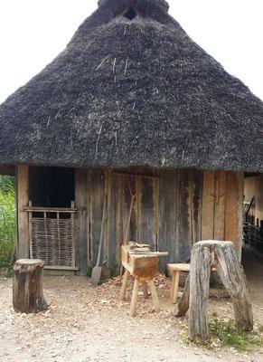 Reetdachhaus im Wikingerdorf Haithabu