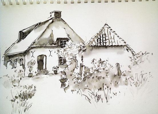 Inky-Skizze Osterkoog
