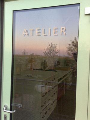 Eingang Atelier, Foto Max Höppner