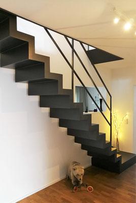 Planung Treppenaufgang EG, Rolf Kullmann Atelier Feynsinn, Köln
