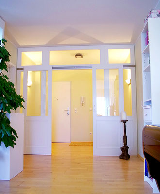 Planung Eingangsraum, Innenarchitekt Rolf Kullmann, Atelier Feynsinn Köln Mülheim