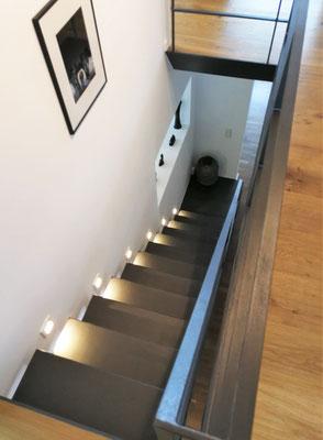 Planung Treppenaufgang, Rolf Kullmann Atelier Feynsinn, Köln
