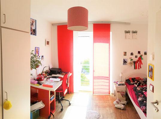 Kinderzimmer/ Jugendzimmer Mädchen vorher, Rolf Kullmann Innenarchitekt, Atelier Feynsinn Köln