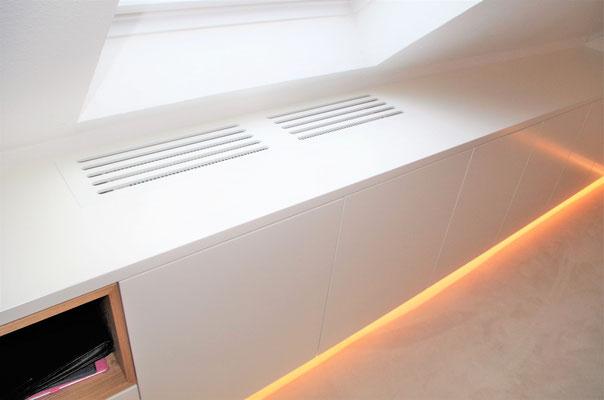 Büro Zuhause. Innenarchitekt Rolf Kullmann, Atelier Feynsinn Köln