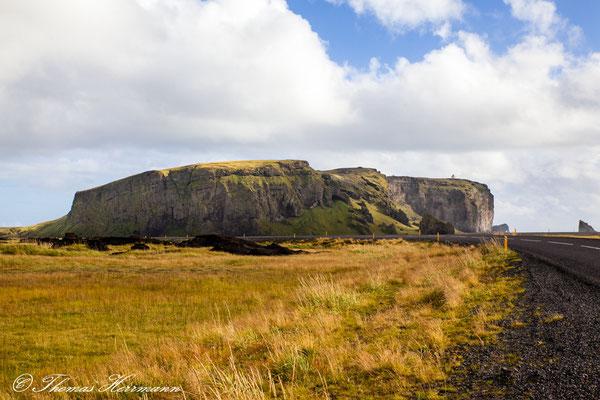 Blick auf Dyrhólaey - Island 2013