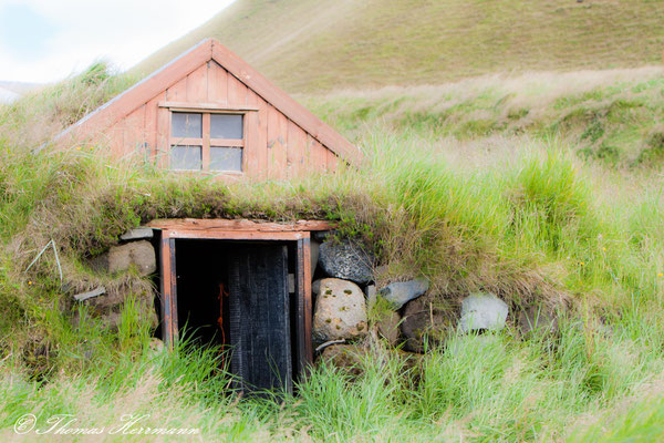 Schafstall in Island 2014