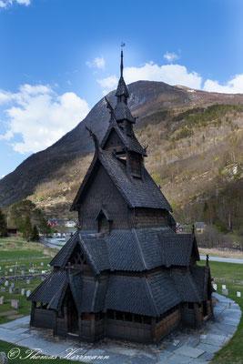 Stabkirche von Borgund 2014