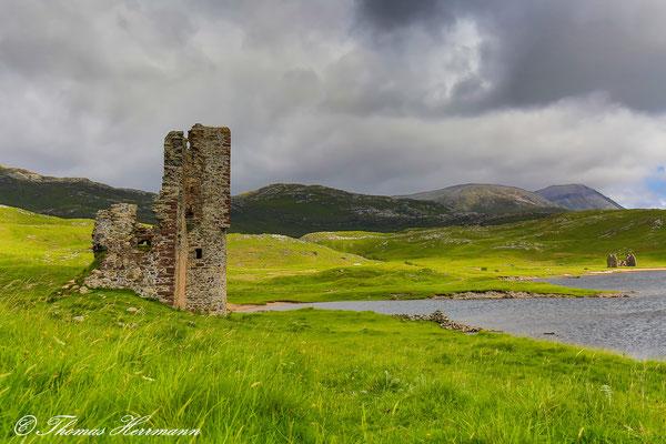 Ardvreck Castle mit Calda Haus - Schottland 2015