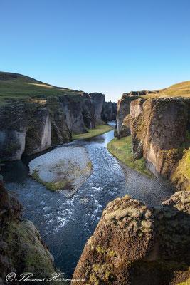 Fjaðrárgljúfur-Schlucht - Island 2013