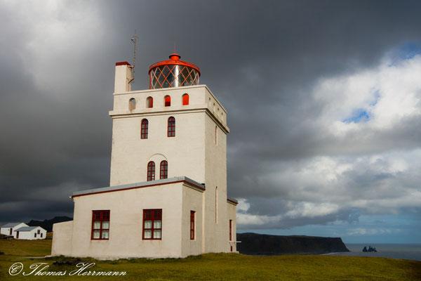 Dyrholaey Leuchtturm von 1927 - Island 2013