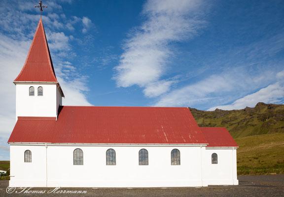 Kirche in Vik i Myrdal - Island 2013