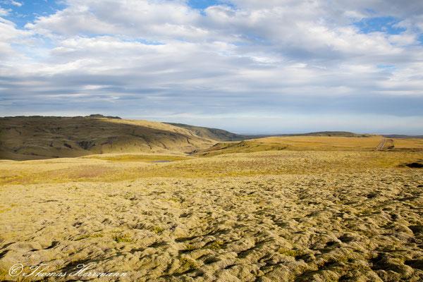 Landschaft Richtung Laki - Island 2013