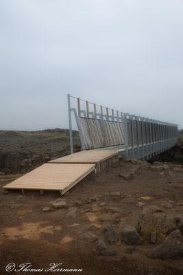 Brücke zwischen den Kontinenten - Island 2013