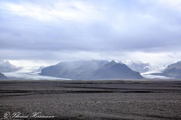 Skeiðarájökull und Skaftafellsjökull im Skaftafell N.P. - Island 2013