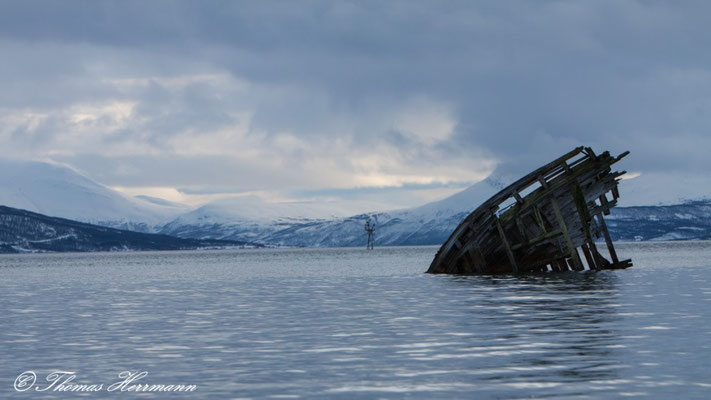 Schiffswrack - Nordnoewegen 2015
