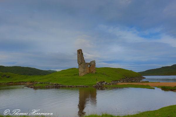 Ardvreck Castle im Loch Assynt - Schottland 2015